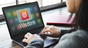 Academic E-Learning Education Online Application Concept Stock Photography