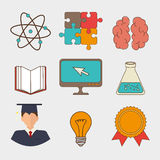 Academic education design. Royalty Free Stock Photography