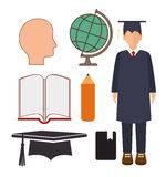 Academic education design. Stock Image