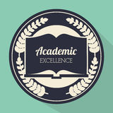 Academic education and elearning Royalty Free Stock Photography