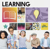 Academic Education Learning Wisdom Graphic Concept Stock Images