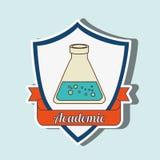 academic emblem design Stock Images
