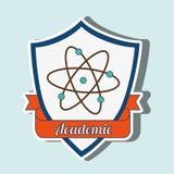 academic emblem design Stock Photos