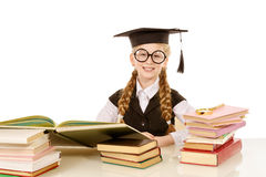 Academic girl Royalty Free Stock Photo