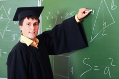 Academic gown Royalty Free Stock Images