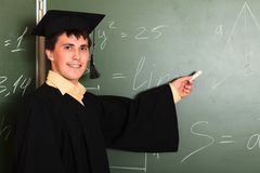 Academic gown Royalty Free Stock Photos