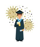 Academic graduation design Royalty Free Stock Photography