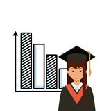 Academic graduation design Royalty Free Stock Images