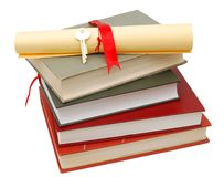 Academic graduation time Royalty Free Stock Photo