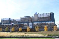 The academic hospital of Leiden, named LUMC part of the University of Leiden. The academic hospital of Leiden, named LUMC part of the University of Leiden stock photos