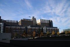 The academic hospital of Leiden, named LUMC part of the University of Leiden. The academic hospital of Leiden, named LUMC part of the University of Leiden royalty free stock photo