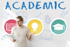 Academic Knowledge Literacy Wisdom Education Concept Royalty Free Stock Photo