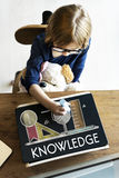 Academic Knowledge Literacy Wisdom Education Concept Royalty Free Stock Photography