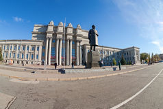 Academic opera and ballet theater at the Kuibyshev Square in Samara, Russia Stock Photography
