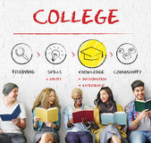 Academic School College University Education Concept. Academic School College University Education Royalty Free Stock Photo