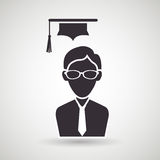 Academic student design. Illustration eps10 graphic Royalty Free Stock Photo