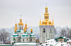 Academic temple lavra Stock Image