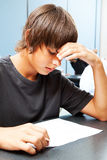 Academic Testing Anxiety Royalty Free Stock Photo