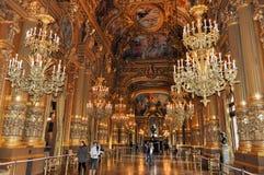 Academie Nationale de Musique, Париж, Франция Стоковые Изображения