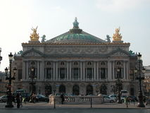 Academie Nationale de Musique, Parigi, 2005 Fotografie Stock Libere da Diritti