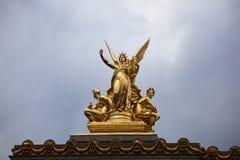 Academie Nationale de Musique in Paris Stockfotografie