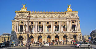 Academie Nationale de Musique, Paris Royalty Free Stock Image