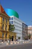 Academie van Muziek, Universiteit van Zagreb, Kroatië Stock Foto's