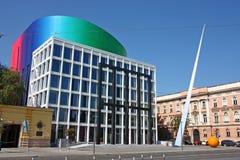 Academie van Muziek, Universiteit van Zagreb, Kroatië Stock Afbeelding