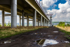 Academische brug Royalty-vrije Stock Afbeelding