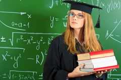Academische carrière Stock Afbeelding