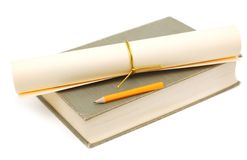 Academische graduatiedag Royalty-vrije Stock Foto's