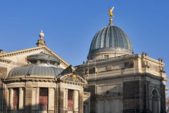 The Academy of Arts in Dresden royalty free stock image