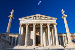Academy of Athens, Greece. Royalty Free Stock Photography