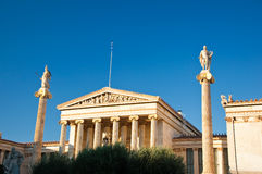 Academy of Athens, Greece. Royalty Free Stock Photo