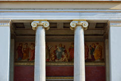 The Academy of Athens , Greece at summer Royalty Free Stock Photo
