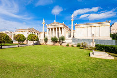 The Academy of Athens Royalty Free Stock Photo