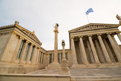 Academy of Athens Stock Photography