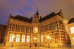 Academy building of the University of Utrecht Stock Photos