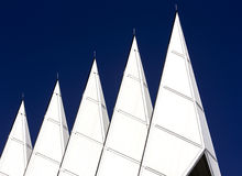 Academy Chapel Spires against blue sky Stock Image
