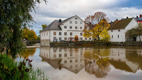 The Academy Mill WS. The Academy Mill or better known as Bishops house in the film Fanny and Alexander. Since 1950 the county museum of Uppsala County. Sweden Royalty Free Stock Photography