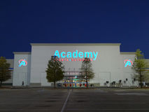 Academy Sports and Outdoors retail store Royalty Free Stock Images