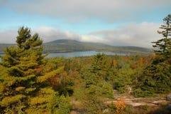 Acadia In Autumn Stock Photo