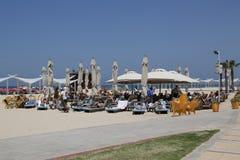 Acadia Beach in Herzliya, Israel. Royalty Free Stock Image