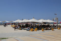 Acadia Beach in Herzliya, Israel. Stock Photo
