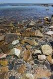 Acadia-Küstenlinie - Märchenland Stockfotografie