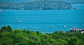 acadia Maine park narodowy usa obraz stock