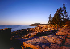 Acadia National Park. & Bar Harbor, Maine Stock Images