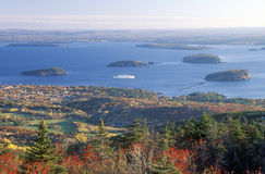 Acadia National Park. In Autumn, Maine Royalty Free Stock Photo