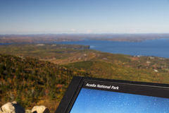 Acadia National Park in Bar Harbor, USA, 2015 Stock Image