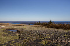 Acadia National Park in Bar Harbor, USA, 2015 Stock Images